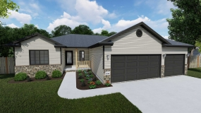 Sierra 1374 by Prairie Home Builders