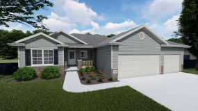 Sierra 1535 by Prairie Home Builders