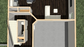 The Liberty Dollhouse First Floor Plan 6-13-18
