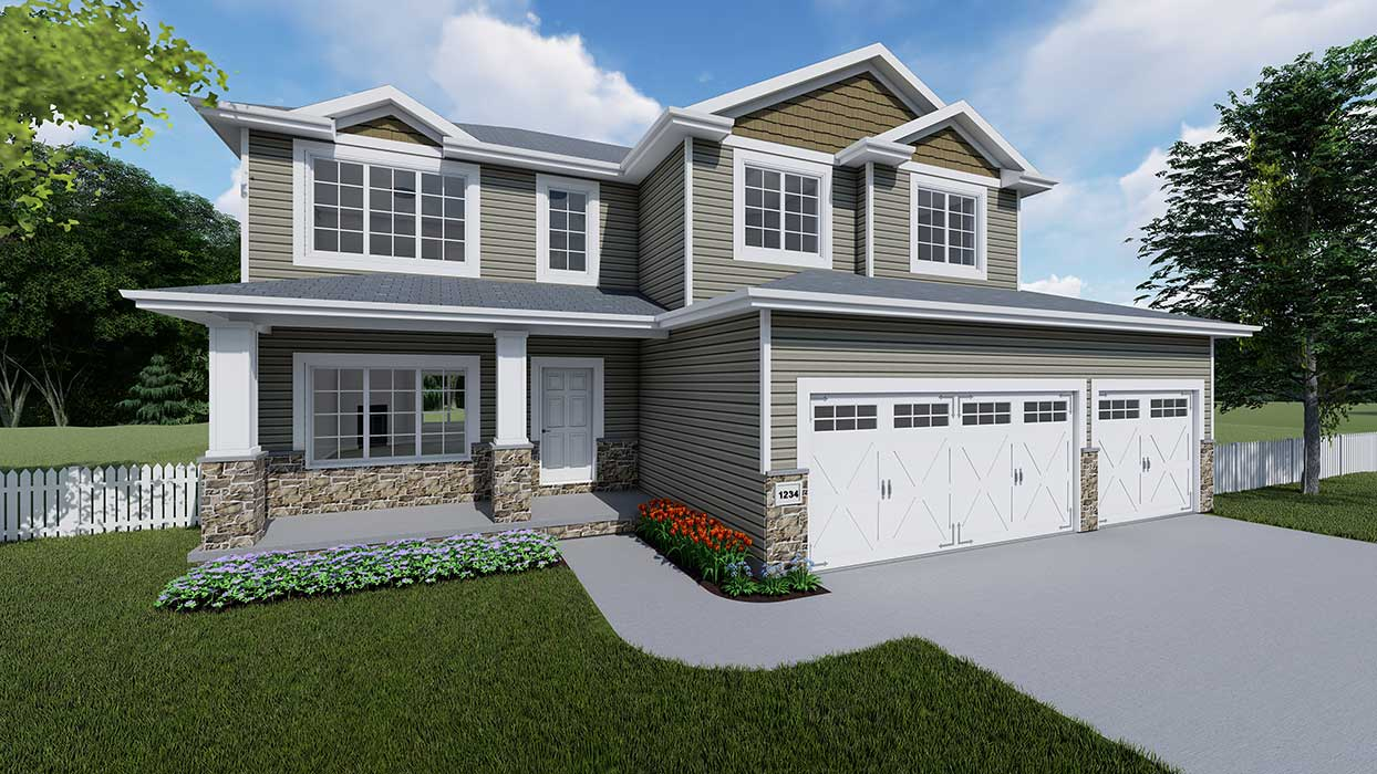 Mirage III by Prairie Home Builders Lincoln NE