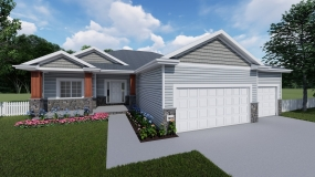 The Sierra II Prairie Home Builders Lincoln Ne