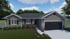 The Linden Prairie Home Builders Lincoln Ne
