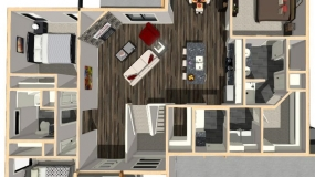 The Frisco First Floor Dollhouse Render 7-23-19